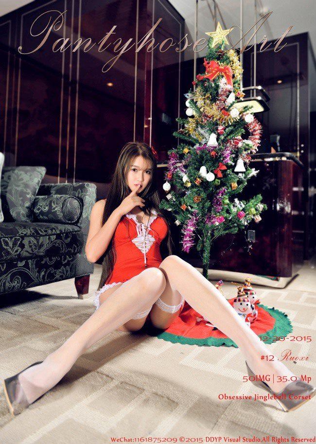 [DDY_PantyhoseArt]原创丝袜/美腿 -若兮-圣诞专辑[51P/657M]